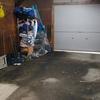 倉庫兼車庫の掃除