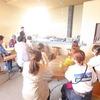 『淡路の瓦師・道上大輔』の講義に学生たちがイチコロ。