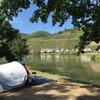 ☆モーゼル川沿いでキャンプ!