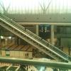 東京ビッグサイト西棟! 1階と4階を結ぶ長大エスカレーターが動いているのを見た!!