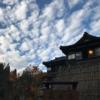 新潟の秘湯「嵐渓荘」で立って入れる深湯に入りマツタケ食べた秋晴れの日