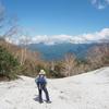 北アルプス登山▲小谷村・風吹岳(かざふきだけ)