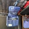 車中泊で置き場に困る小物を一発お片付け! 吊るして使える収納ケースの紹介。
