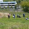 植生調査と野草を食す