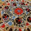ウズベクの刺繍スザニにインドを馳せる。