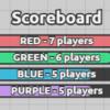 【8/23】4チームに分かれてはちゃめちゃ大乱闘?!赤青緑紫が入りまじる新タッグモード開始!【diep.io】