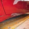 プジョー208(サイドシル・ドア・フェンダー・ピラー)歪み・ヘコミの修理料金比較と写真 初年度H28年、型式A9HN01