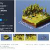 【無料化アセット】ローポリの木や石など自然素材 + キャンプ場関連の3Dモデルがリリース記念で2週間だけ無料化「Low Poly Landscapes - Campsite」/ iOS、Android、Windows Phone 8クロスプラットフォーム対応 モバイルのネイティブ機能を呼び出すプラグイン「Native Toolkit」