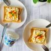 チーズで朝食シリーズ④❤︎濃厚チーズタルタルのオープンサンド