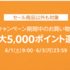 【Amazonタイムセール祭り】最大5000ポイントをゲットする方法
