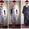 【楽天】「ワンピース型着物下着」が届いたので、さっそく使ってみました♪ 着画あり