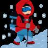 冬山登山中の恐怖体験