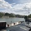 セーヌ川沿いを散策