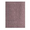着物生地(352)斜め格子に抽象花模様織り出し手織り真綿紬