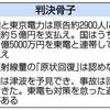 国の責任再び認定 原発被災3800人 福島訴訟 - 東京新聞(2017年10月11日)