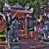 パタヤ 「儒道佛 三聖山」(ワン・サム・シエン)~面白系陳列物の寺院の一つ