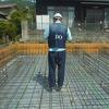 岡山県浅口市6LDKの2世帯住宅 新築工事 JIOによる配筋検査