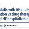 ACPJC:治療 心不全合併の心房細動患者ではアブレーションは薬物療法と比較して全死亡と心不全入院を減らす