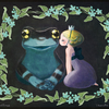 過去作紹介『魔法のキス〜ブルースターとジュウジメドクアマガエル 』動画もあります♪
