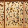 あなたの心に潜む虫を標本に!『弱虫標本』川越ゆりえ展 & アーティスト江本創 + Kate Kato