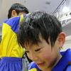 九龍は今日のサッカー教室でフェイントなども上手く出来て、ゲーム形式の練習ではドリブルからのシュートを決める事も出来ました。