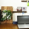 【DIY】オシャレな壁掛けのインテリアを作ってみた。フェイスグリーンを使って!