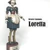 回転式自動人形  ロレッタ その2(完成)