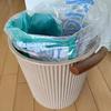 レジ袋は買わない派。ゴミ袋は作る派。