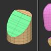 Zbrushで左右にまっすぐ伸びるポリゴン面の作り方(ブリッジ)