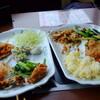 お昼は新宿でタイ料理のバイキング。夜は神楽坂。
