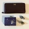 ミニマリストなので、財布もミニマルに。1万円の長財布から800円の三つ折り財布に買いかえました。