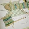 靴下(2号)を編む。#01