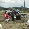 強風のお台場海浜庭園オートキャンプ場