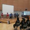門前中学校で民謡「能登麦屋節」を学ぶ授業が行われました