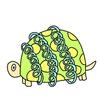 コテセンガメ(パラレル生物図鑑)