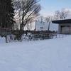 カメラの水準器が壊れた、前田森林公園はめちゃ寒かった。