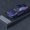 イグニッションモデル ニスモ R34 GT-R Z-tune Purple Metallic 1/64