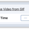 Make Video from GIF