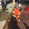 消防隊員によるポートタワー駆け上がり公開訓練