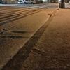 和明さん宅の周りでも初雪観測しました