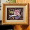 ◆◆◆グリッターを使おう!大野千代さんのプリント「Flower & Rabbit」がかわいいです。◆◆◆