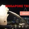 シンガポール旅行記 〜1日目〜 シンガポール到着編