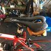 ロードバイクのサドルを交換(ロングライド対策)