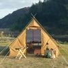 2018年新発売のテンマクデザインのPEPO(ペポ)というテントがレトロで快適らしい