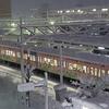 近江鉄道 雪の記録(2020-21) <4> 大晦日の朝(12/31-Ⅰ)