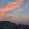 夜明け前の空が良い色に...