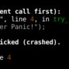RustのCrate調査 (better-panic)
