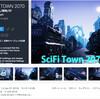 【無料化アセット】サイバーパンクな近未来都市モジュール素材。去年10月にリリースしたばかり$30の新作アセットがなんと無料化「SCIFI TOWN 2070」/ ポップな色彩都市モデルも同時に無料化「Stylish House」