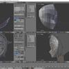 HoloLens特化のホロ恋子モデルを作成する その9(スムーズ表示と細分割曲面)