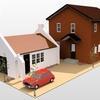 英国住宅ガレージ